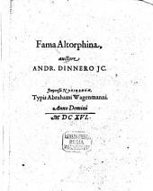 Fama Altdorphina