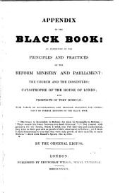Appendix to The black book, by the original editor [J. Wade].