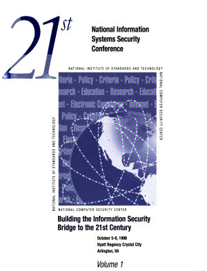 21st National Information Systems Security Conference