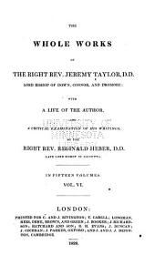 The Whole Works of Jeremy Taylor: Sermons