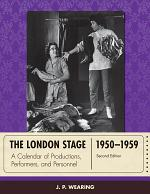 The London Stage 1950-1959