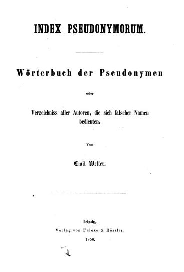 Index pseudonymorum PDF