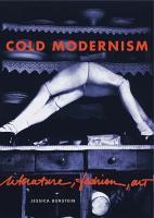 Cold Modernism PDF
