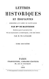 Lettres historiques et édifiantes adressées aux dames de Saint-Louis
