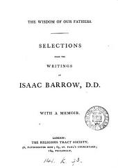 Selections from the writings of Isaac Barrow