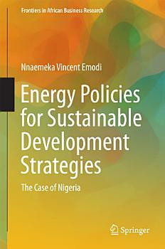 Energy Policies for Sustainable Development Strategies PDF