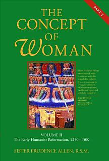 The Concept of Woman Book