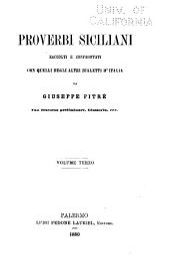 Biblioteca delle tradizioni popolari siciliane: Volume 10