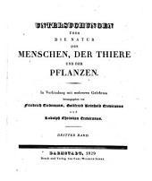 Zeitschrift für Physiologie: In Verbindung mit mehreren Gelehrten, Band 3
