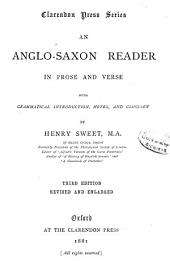 An Anglo-Saxon Reader in Prose and Verse