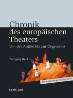 Chronik des europ  ischen Theaters PDF