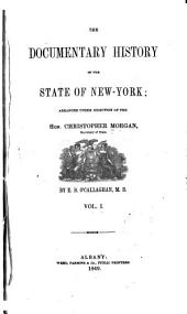 The Documentary history of the state of New-York