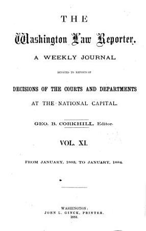 The Daily Washington Law Reporter PDF