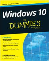 Windows 10 For Dummies PDF