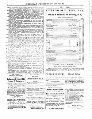 American Publishers  Circular and Literary Gazette PDF