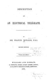 Description of an Electrical Telegraph
