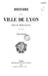 Histoire de la ville de Lyon