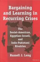 Bargaining and Learning in Recurring Crises PDF