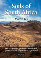 Soils of South Africa PDF