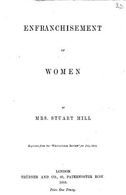 Enfranchisement of Women PDF