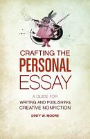 Crafting The Personal Essay PDF
