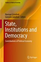 State  Institutions and Democracy PDF