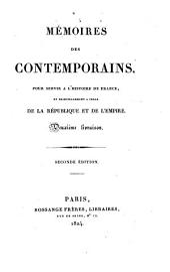 Manuscrit de mil huit cent quatorze, trouvé dans les voitures impériales prises à Waterloo, contenant l'histoire des six derniers mois du règne de Napoléon