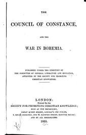 The Council of Constance, and the war in Bohemia