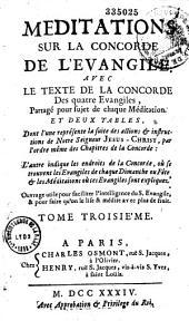 Méditations sur la concorde de l'Evangile par Nicolas Legros
