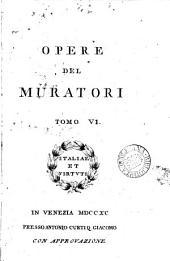 Dissertazioni ... sulle antichità italiane. (Opere).