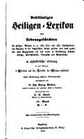 Vollst  ndiges Heiligen Lexikon PDF