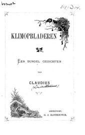 Klimopbladeren: een bundel gedichten
