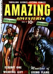 Amazing Adventures, Volume 2, Monsters of Living Flame