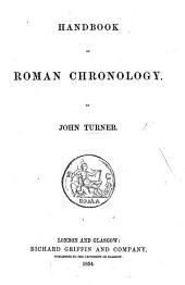 Handbook of Roman Chronology