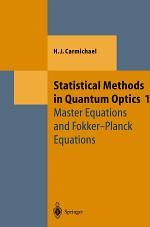 Statistical Methods in Quantum Optics 1