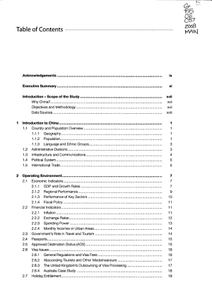 The Chinese Outbound Travel Market PDF