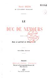 Le duc de Nemours