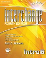 Interchange Intro Full Contact B with Self study DVD ROM PDF