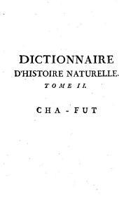 Dictionnaire raisonné universel d'histoire naturelle: Volume2