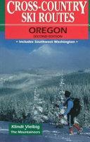 Cross Country Ski Routes Oregon PDF