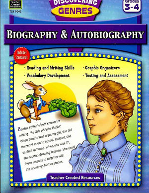 Biography & Autobiography, Grades 3-4