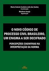 O Novo Código de Processo Civil Brasileiro, um enigma a ser decifrado: Percepções cognitivas na interpretação da norma
