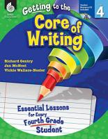 Essential Lessons for Every Fourth Grade Student  Level 4 PDF