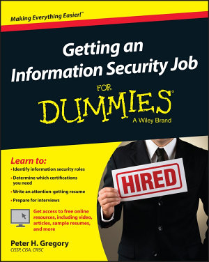 Getting an Information Security Job For Dummies PDF
