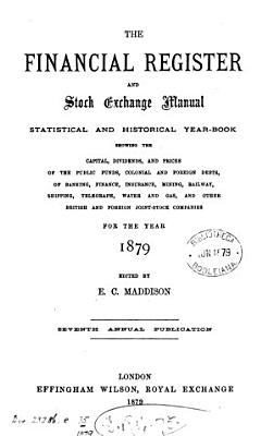 The Financial register and stock exchange manual PDF