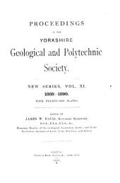 Proceedings of the Yorkshire Geological Society: Volume 11