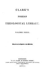 Biblical Commentary on the Epistle to the Hebrews