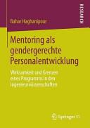 Mentoring als gendergerechte Personalentwicklung PDF