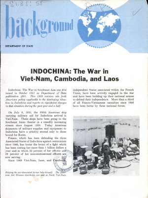 Indochina  the War in Viet Nam  Cambodia  and Laos PDF