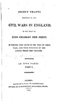 Select Tracts Relating to the Civil Wars in England PDF